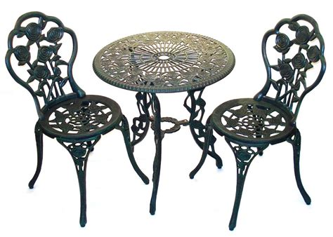 Iron Bistro Table Set Bistro Patio Sets