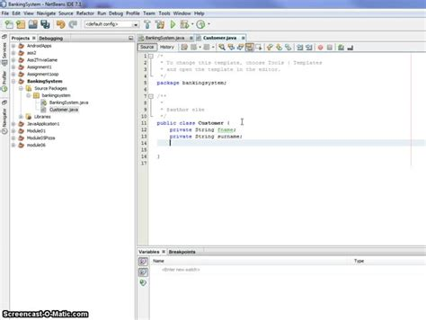 netbeans tutorial for beginners ppt screen casting how to create java class using netbeans