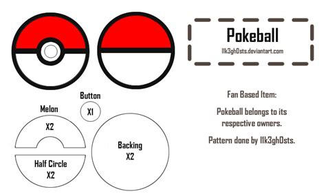 How To Make A Pokeball Out Of Paper - pattern pokeball by l1k3gh0sts on deviantart