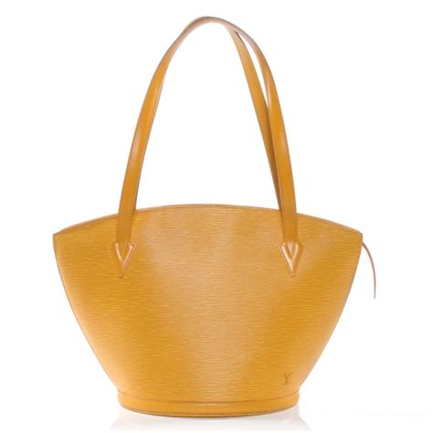 Louis Vuitton 40178 Uk24x6x14 Louis Vuitton Epi Jacques Shopping Gm Bag Tassil