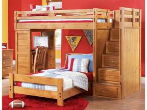 Bunk Bed With Desk Underneath by Bedroom How To Build A Loft Bed With Desk Underneath