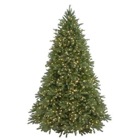 home depot 9 foot douglas fir artificial treee 9 ft feel real jersey fraser fir artificial tree with 1500 clear lights pejf4 300 90