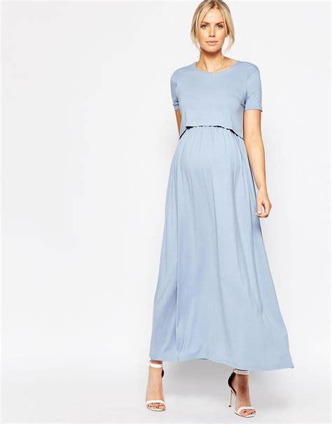 Emory Serafinne nursing maxi dress oasis fashion