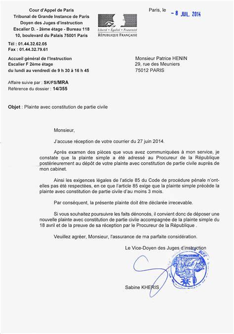 Exemple De Lettre Pour Plainte Contre X Modele Lettre Plainte Contre X Pour Vol