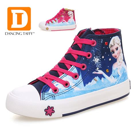 snow sneakers for princess shoes for fashion elsa children