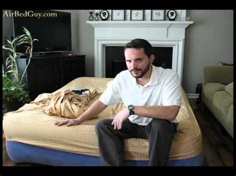 airbed air mattress ozark trail youtube