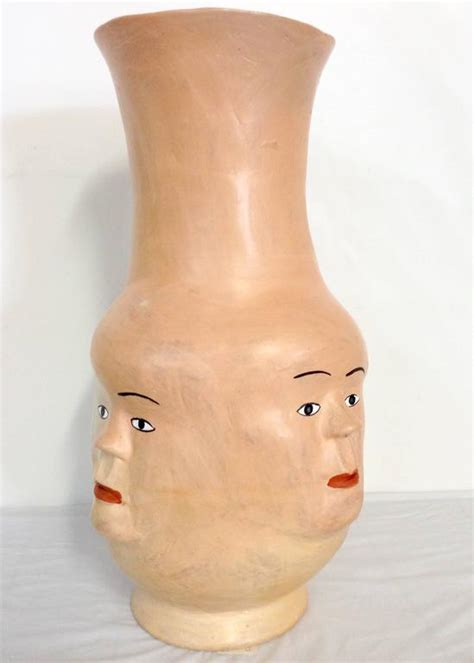 Faces Vase by Quot The Vase With Faces Quot By Gomes At 1stdibs
