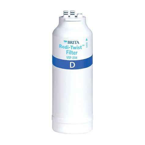 brita sink filter replacement brita redi twist microbiological filter cartridge wfusf