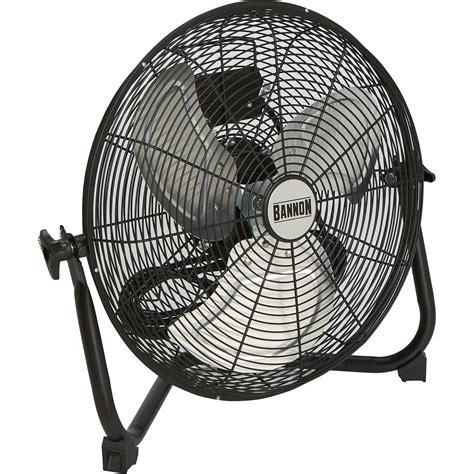 Floor Fan by Bannon Enclosed Motor Floor Fan 3 500 Cfm 16in Floor