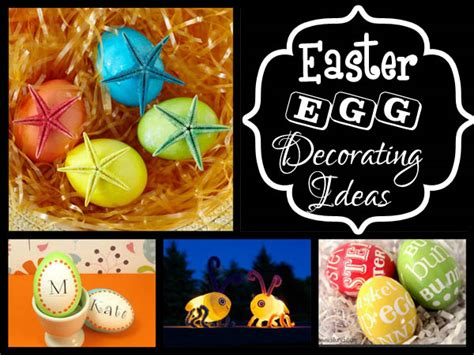 Decorating Ideas Easter 20 Creative And Easter Egg Decorating Ideas Easyday