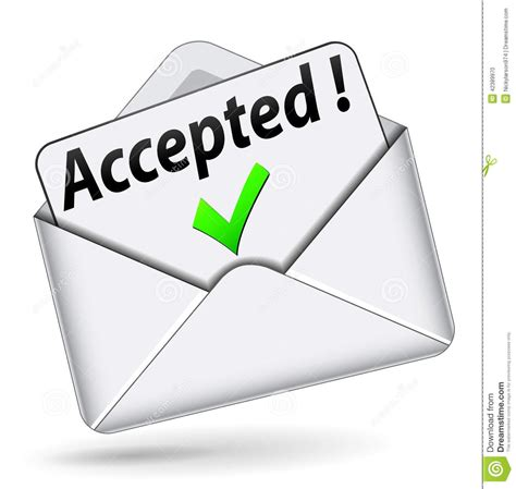 Offer Letter Icon Acceptance Letter Clipart Clipartsgram