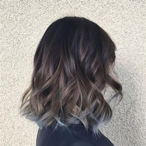 Ombre Abu bounces and curls ide warna rambut ombre untuk si keriting