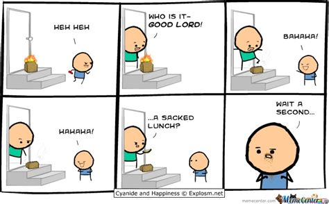 Meme Comic Strip - packed lunch by derpmaster meme center