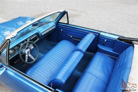 1965 Chevelle Convertible Metallic Blue Paint