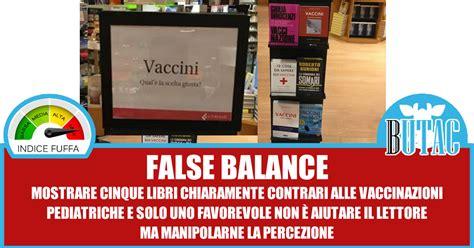 libreria viale libia il false balance in libreria butac bufale un tanto al