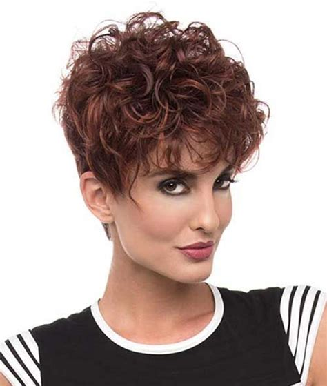 short hair cust with puffy topack short curly hair pics to help you create a new look