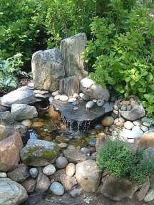 Small Rock Garden 75 Relaxing Garden And Backyard Waterfalls Digsdigs
