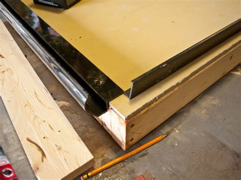 Pour Concrete Countertop In Place by One Forming Cheng Concrete Exchange