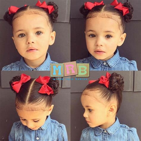 hairstyles for 2 year old curly mixed race babies on instagram black bajan jamaican