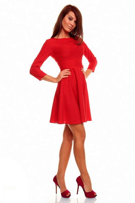 long red promotion dress red dress long sleeve