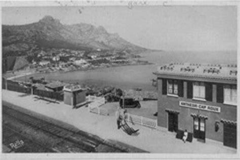 Anthéor Saint Raphael,cartes postales anciennes,gare PLM d'Anthéor