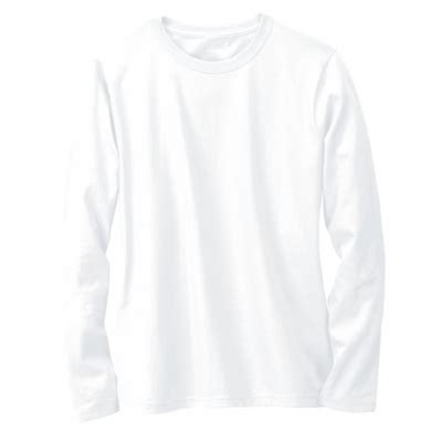Kaos Bullshirt Lengan Panjang Putih kaos polos lengan panjang warna putih oblong putih lengan panjang o neck 11 ukuran