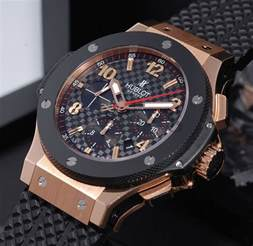 Hublot Watches Hublot 44mm Quot Big Quot Chronograph Ref 301 Pb 131rx In