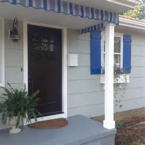 awning for porch awnings and porch valances home spun style