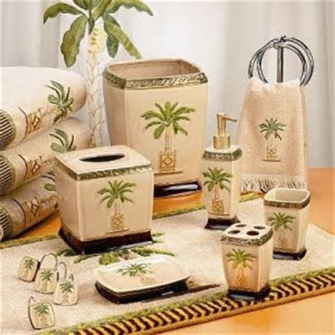 palm tree bathroom sets palm tree decor