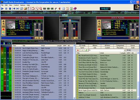 download mp3 dj uno programma per gestione e automazione radio e playlist