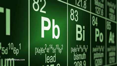 heavy metals periodic table synthetic chemicals are safer than ones don t