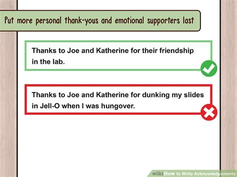 How To Make An Acknowledgement In A Research Paper - 3 ways to write acknowledgements wikihow