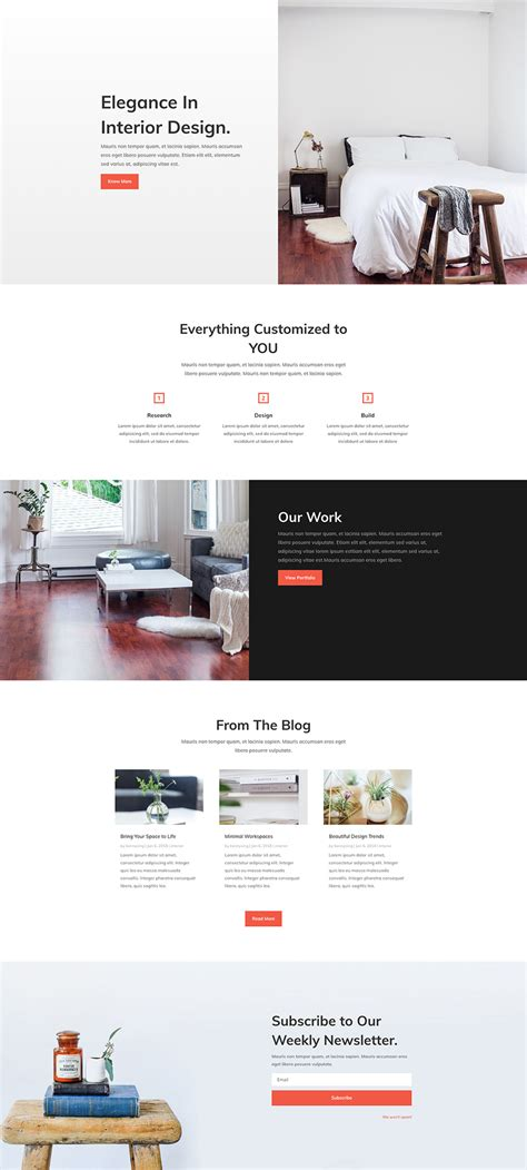 Home Page Layout Design View Located On The Ribbon Is Referred To As | download a free refreshing interior design layout pack