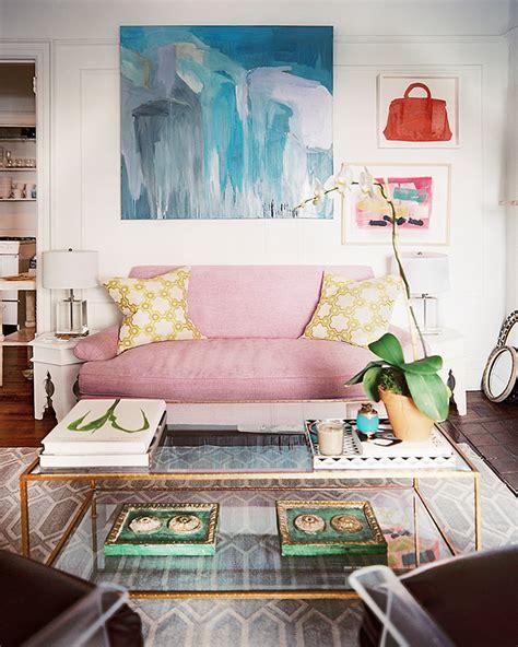 peak  tres chic needing wanting loving  purple sofa