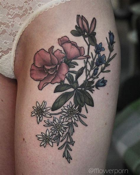 azalea flower tattoo designs edelweiss tattoos ideas www pixshark images