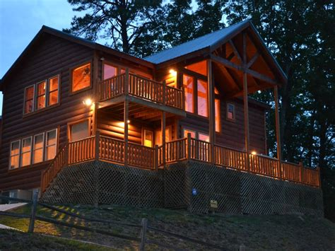 luxury cabin amazing mt leconte view place vrbo