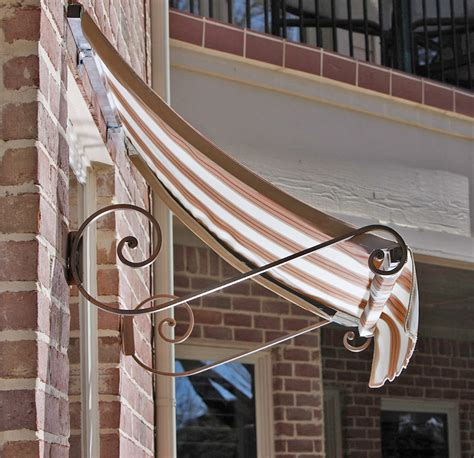 glass door awning charleston window door awning