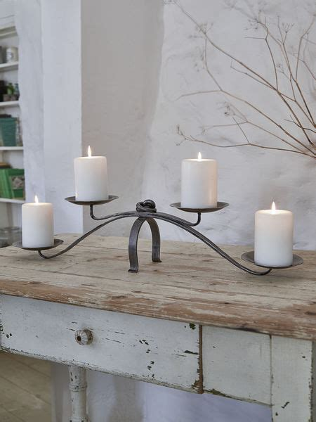 Dining Table Candle Holders by Artisan Wrought Iron Candleholder Dining Table Candle Holder