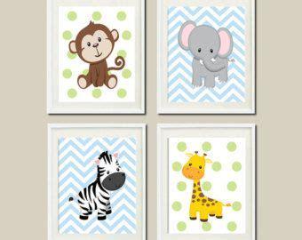 Kinderzimmer Bilder Tiere by Die Besten 17 Ideen Zu Dschungel Kinderzimmer Auf