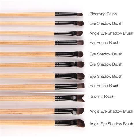 Kuas Make Up Profesional 17pcs Berkualitas professional brush make up 32 set dengan pouch black
