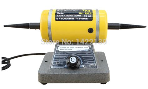 variable speed bench buffer polisher variable speed bench lathe polishing machine buffing motor