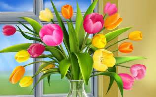Colors Of Spring The Most Beautiful Flower Wallpapers Of The World Colors
