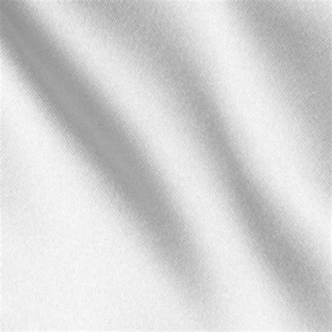 White Fabric by White Satin Fabric