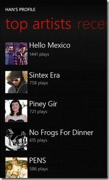 Last Fm Updated For Mango Allows Streaming Music In House Lastfm