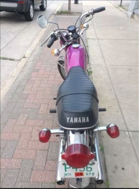 1971 motorcycle yamaha 200 cs3 b purple 1971 motorcycle yamaha 200 cs3 b purple