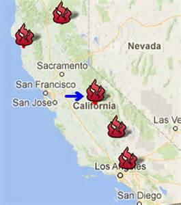 map of california fires currently burning elsewhere in weather news august 23rd 2014 a weather