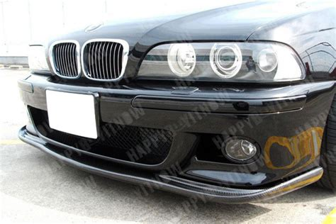 Spare Part Bmw E39 98 03 combo carbon fiber bmw e39 m5 h type front lip