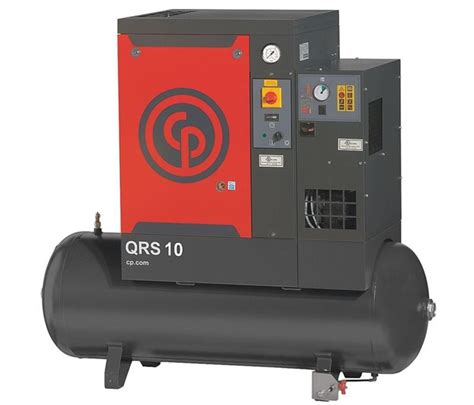 chicago pneumatic qrs10 hpd tm rotary air compressor