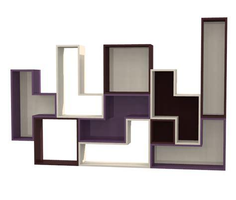 Scaffale Su Misura by Scaffale Tetris In Laminato Negozio Mybricoshop
