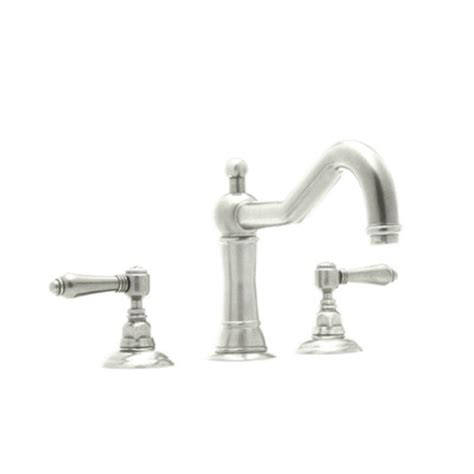Rohl Bathroom Faucets Rohl Acqui 8 In Widespread 2 Handle Bathroom Faucet In Polished Nickel A1409lmpn 2 The Home Depot